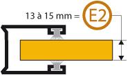 Epaisseur lame E2