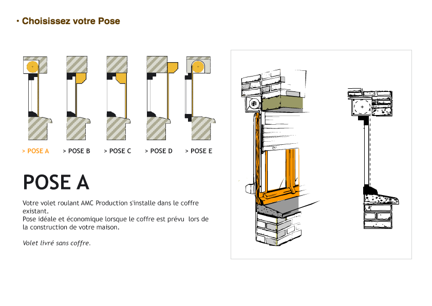 Notices de pose de volets roulants store for Pose de volets roulants