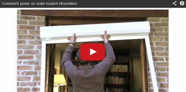 Comment Poser Des Volets Roulants B C D En Vidéo Avec Store Volet